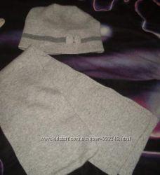 шапка у комплекті з шарфіком