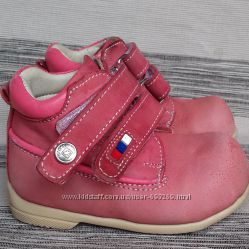 Ортопедические демисезонные ботиночки для девочки 19 размер