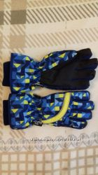 Лыжные, зимние перчатки для мальчика H&M 8-12 лет