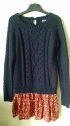 Платье туника свитер Next 9-10 лет