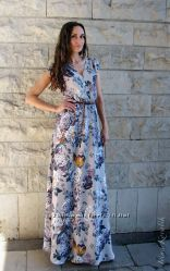 Авторское платье Японский сад