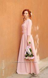 Длинное авторское платье для особых случаев