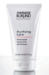 Очищающий гель для ухода за жирной и проблемной кожей. Annemarie Borlind