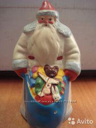 Куплю под реставрацию Деда Мороза, Снегурочку из опилок, папье-маше СССР.