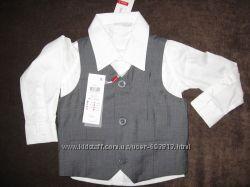 Рубашка жилетка NAME IT, Размеры 74, 80, 86, 92, 98, 98-104