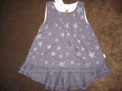 Платье нарядное, с атласной подкладкой NAME IT Голландия, размеры 86.