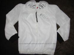 Блуза нарядная, бренда NAME IT Голландия. Размеры 110-116, 122-128