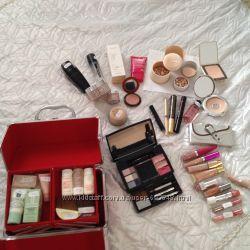 Dior, Guerlain, Clinique, Clarins, Ninelle, Gosh