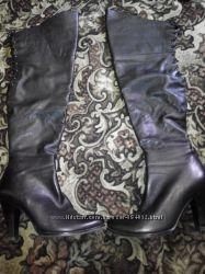 Продам кожаные ботфорты