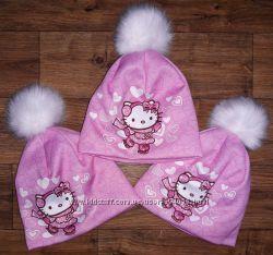 Стильна зимова шапка
