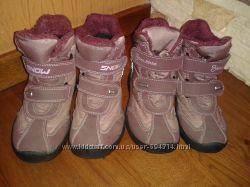 Зимові чобітки  для дівчинки 28 і 29 розмір