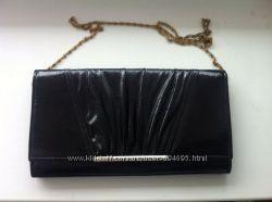 d4fdffa4ac22 Черный лакированный клатч на цепочке, 260 грн. Женские сумки ...