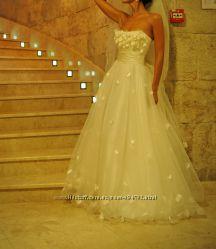 Свадебное вечернее  платье