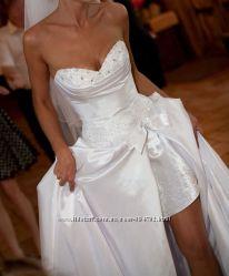 обалденное платье свадьба вечерние