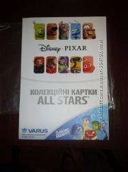 Альбом с 3D коллекционными карточками ALL STARS из Варуса.