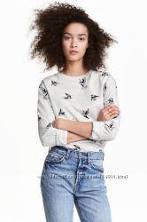 Красивый фирменный свитшот H&M