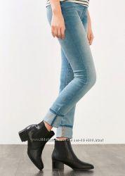 Голубые джинсы Esprit skin slim р. 28