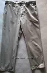 Летние бежевые штаны чиносы Marks&Spencer Blue Harbour р. 36