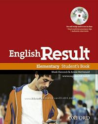 Oxford English Result Elementary Students Book with DVD Pack