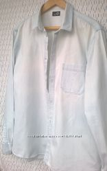 230b000fea3 голубая джинсовая рубашка Cheap Monday р. XL
