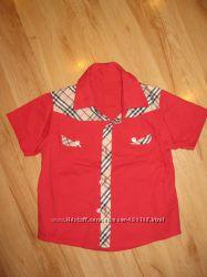Продам красивую рубашку Burberry  р. 110