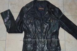 Кожанный пиджак 42р.