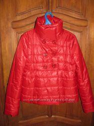 Куртка демисезонная Pink Woman р. L теплая на плотном синтепоне
