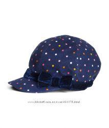 Стильная кепка H&M в горох