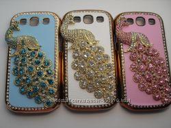 чехлы с Павлином для телефонов Samsung Galaxy S3 и для Apple iPhone