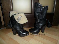 Стильные сапоги ботинки Miss Sixty, р. 35, в идеале