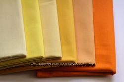 Однотонные ткани. Американский хлопок. Розовый, оранжевый, фиолетовый
