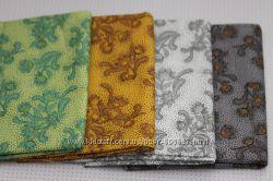 Набор тканей для рукоделия, пэчворка Весенний сад.