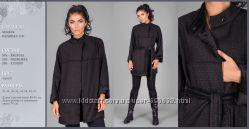 Кардиган-пальто из высококачественного теплого трикотажа на меховой основе.