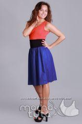 Летнее модное платье 3в1 для беременных и кормящих