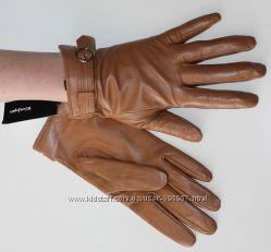 Женские кожаные перчатки 7. 5