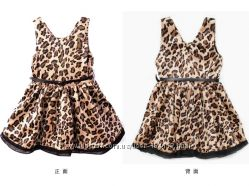 В наличии Леопардовые сарафаны для девочек