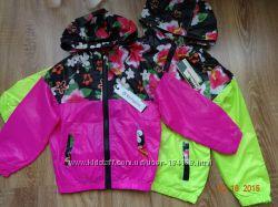 Куртки ветровки для девочек в наличии
