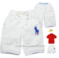 В наличии шорты polo оригинал для мальчиков 4 цвета
