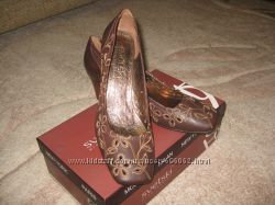 Сногшибательные новые  кожаные туфли