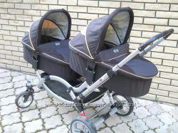 Коляска АВС design ZOOM для двойни или близнецов