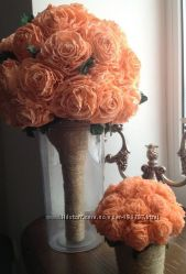Цветы ручная работа, Под заказ