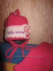 Очень красивая шапка и шарф