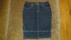 Черная джинсовая юбка Motivi, размер М