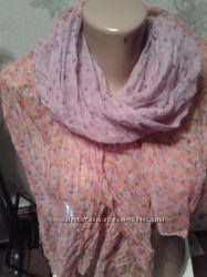 продаю хлопковый шарф новый