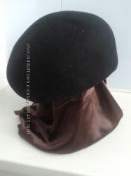 Берет р. 54 фетровый женский. шляпка.