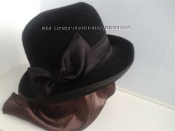 Продам фетровую шляпу кроликовый пух 100