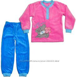 Теплая пижама для девочек