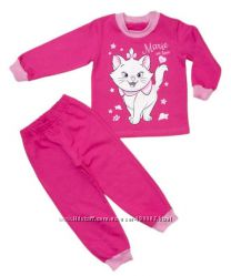 Пижама для девочек утепленные 98-110