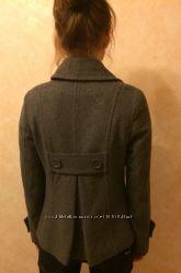 Стильное шерстяное пальто h&m  Подарок
