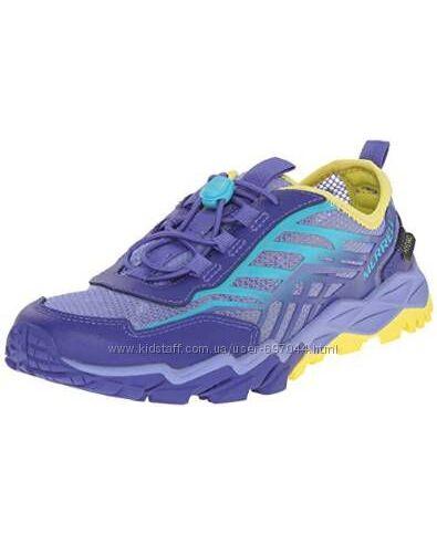 Кросовки Merrell Girls Hydro Run Water Shoe, Blue-Turquoise-Yellow, р. 37, 38